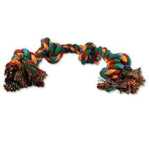 Dog Fantasy igralna vrv s štirimi vozli - 60 cm