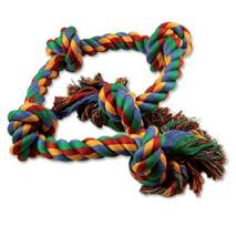 Dog Fantasy igralna vrv s petimi vozli - 95 cm