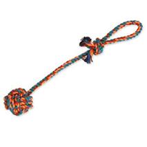 Dog Fantasy igralna vrv z žogico - 45 cm