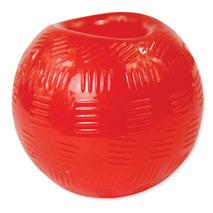 Dog Fantasy Rubber žoga, rdeča - 6,3 cm