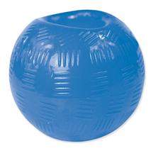 Dog Fantasy Rubber žoga, modra - 8,9 cm