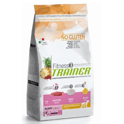 Trainer Fitness3 Puppy Mini - raca in riž 2 kg