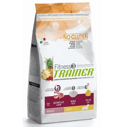 Trainer Fitness3 Adult Mini - jagnjetina in riž 2 kg