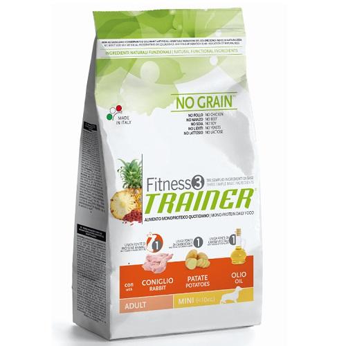 Trainer Fitness3 Adult Mini - zajec in krompir 2 kg