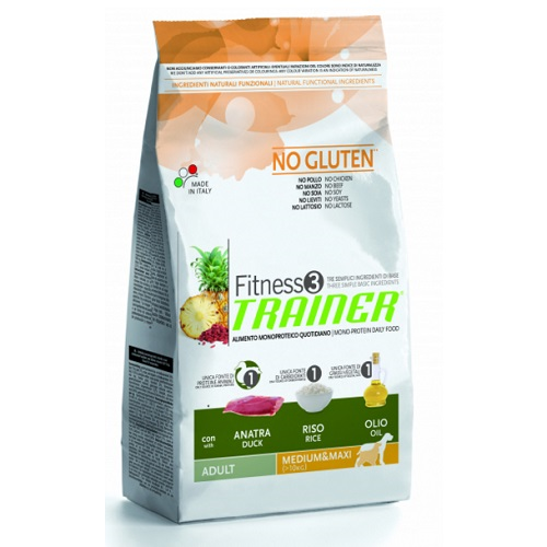 Trainer Fitness3 Adult Medium/Maxi - raca in riž 3 kg
