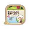 Schmusy Nature Kitten - losos in jagnjetina - 100 g 100 g