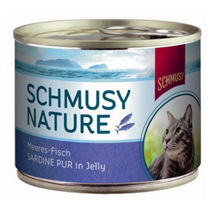 Schmusy Nature - sardine - 185 g