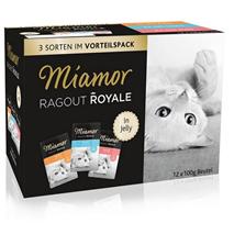 Miamor Ragu Roya Multibox - puran/losos/teletina - 12 x 100 g