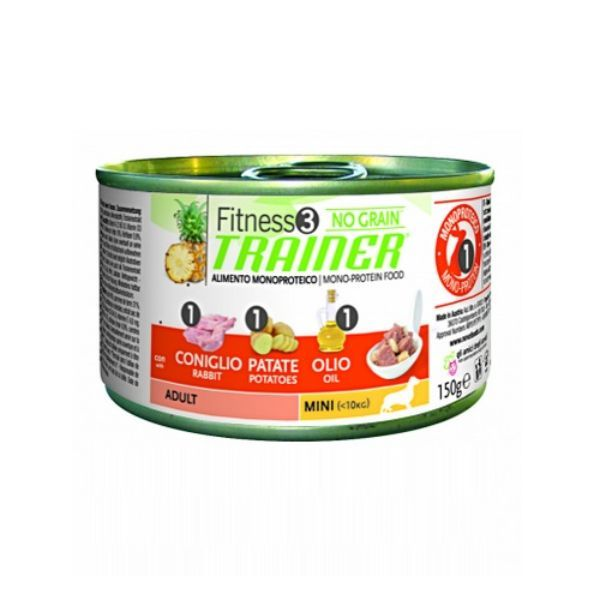 Trainer Fitness3 Adult - zajec in krompir - 150 g
