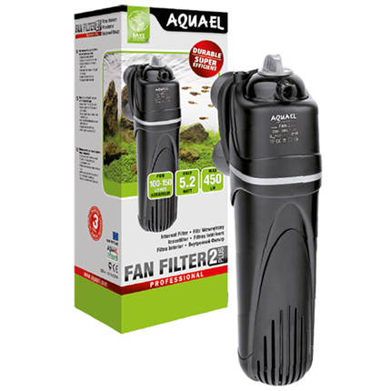 Aquael notranji filter Fan 2 Plus 100 - 450 l/h