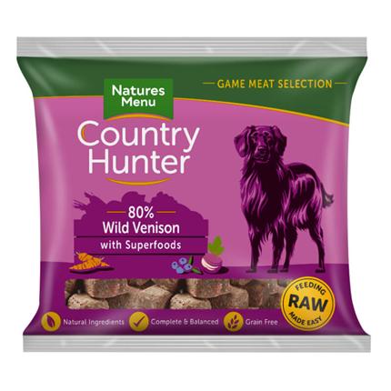 Natures Menu Country Hunter Nugget - divjačina, borovnice - 1 kg - zamrznjeno
