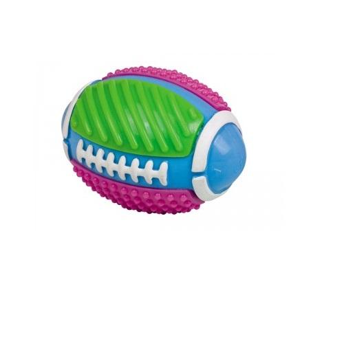 Nobby plavajoča rugby žoga z zvončkom - 11,5 cm