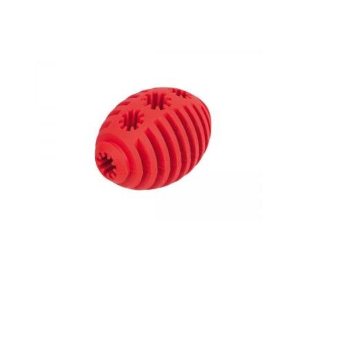 Nobby rugby žoga za posladke, rdeča - 8 cm