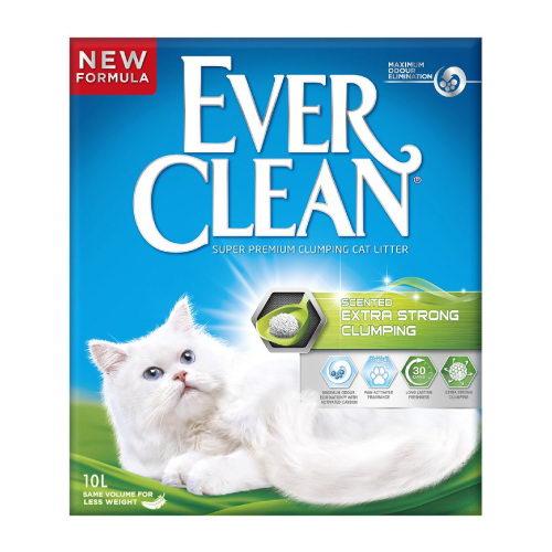 Ever Clean Extra Strong posip za mačje stranišče - 10 L