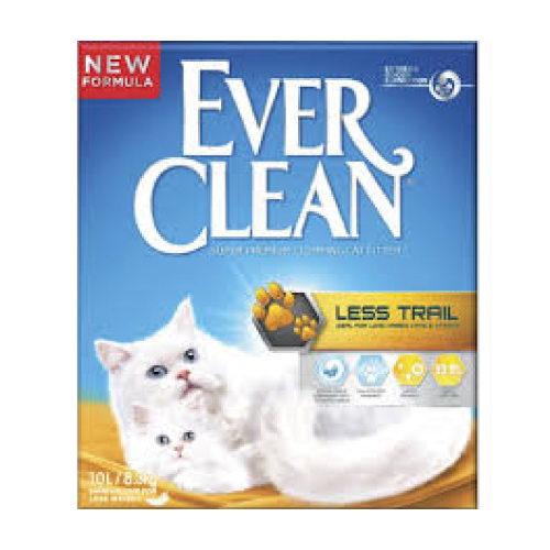 Ever Clean Extra Less Trail posip za mačje stranišče - 10 L
