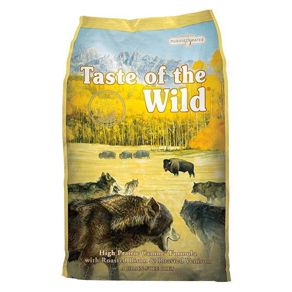 Taste Of The Wild High Prairie – pečeni bizon in divjačina 13 kg
