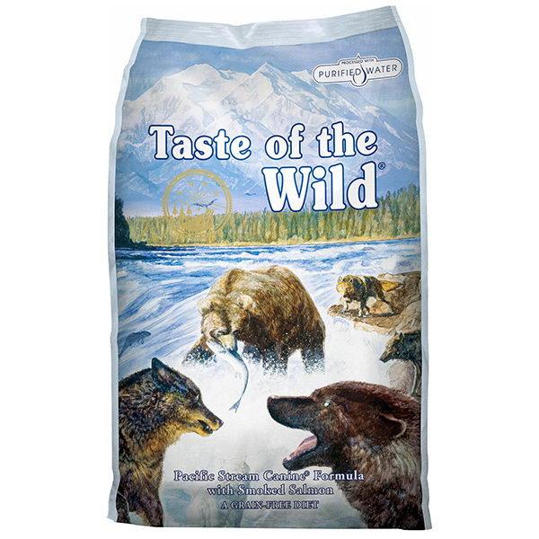 Taste Of The Wild Pacific Stream – prekajeni losos – 13 kg