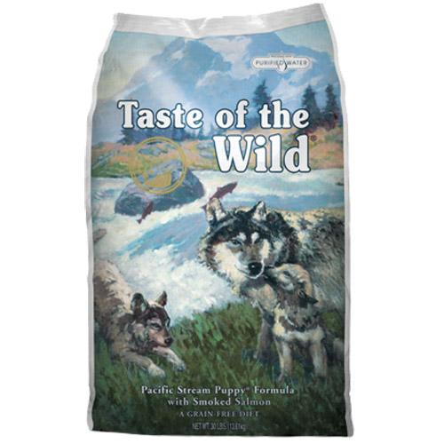 Taste Of The Wild Pacific Stream, Puppy – prekajeni losos 6 kg