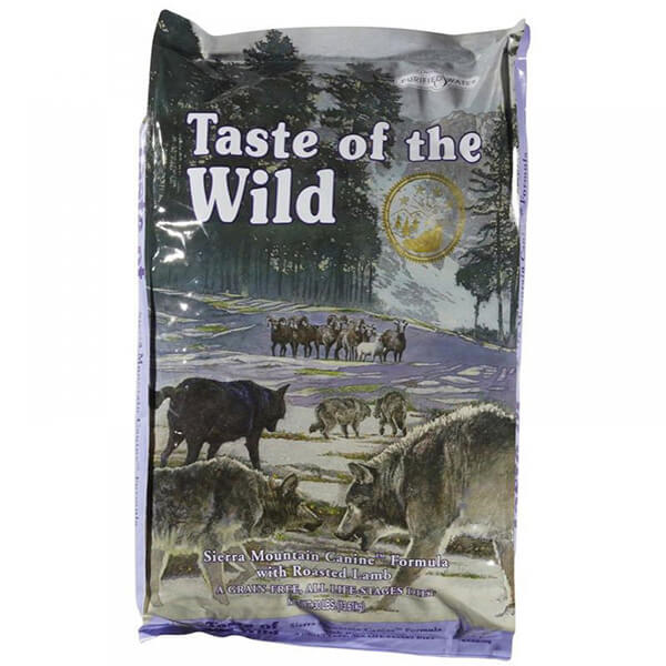Taste Of The Wild Sierra Mountain – pečena jagnjetina – 13 kg