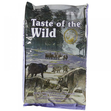 Taste Of The Wild Sierra Mountain – pečena jagnjetina – 13 kg