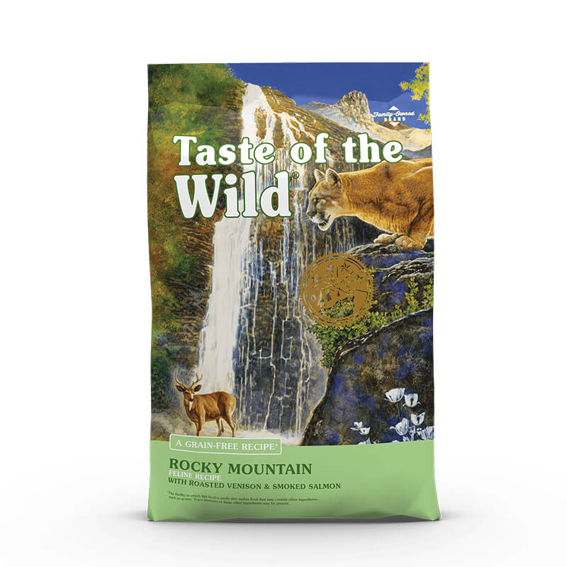 Taste Of The Wild Rocky Mountain – pečena divjačina & losos – 2 kg
