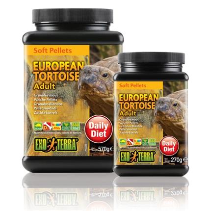Exo Terra hrana za odrasle evropske želve - 270 g