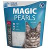 Magic Pearls Silica posip za mačje stranišče - vonj oceana 7,6 l