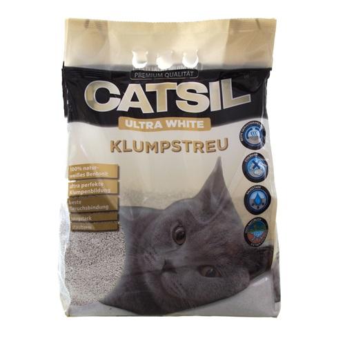 Catsil Ultrawhite posip za mačje stranišče - 8 l