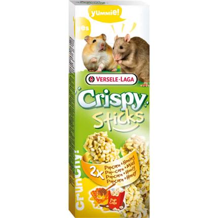 Versele-Laga Crispy kreker popcorn in med - 2 x 55 g