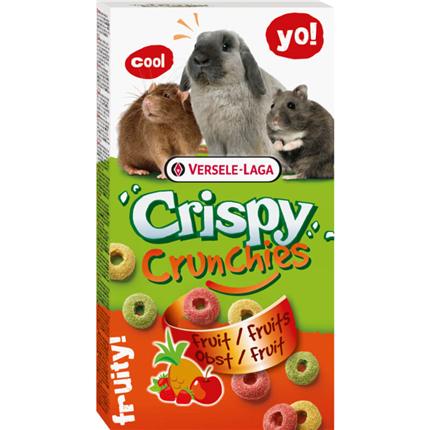 Versele-Laga Crispi Crunchies hrustljavi sadni obročki - 75 g