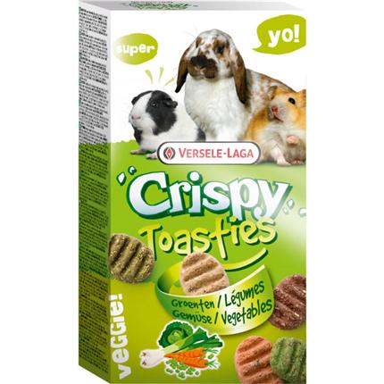 Versele-Laga Snack Crispy Toasties Vegetable piškoti z zelenjavo - 150 g