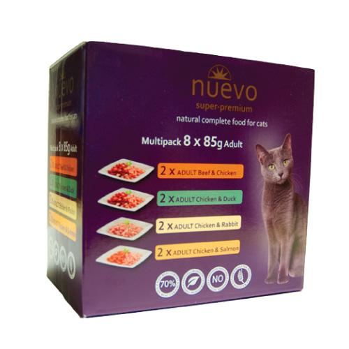 Nuevo Adult Multipack Mix - 8 x 85 g