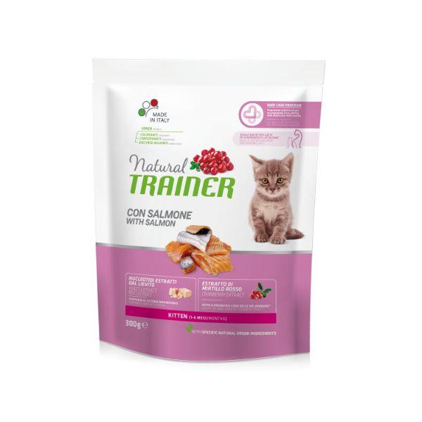 Trainer Cat Natural Kitten - losos - 300 g