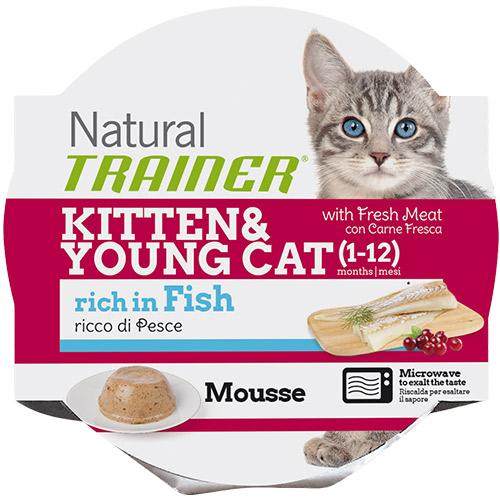 Trainer Natural Mousse Kitten - riba - 85 g