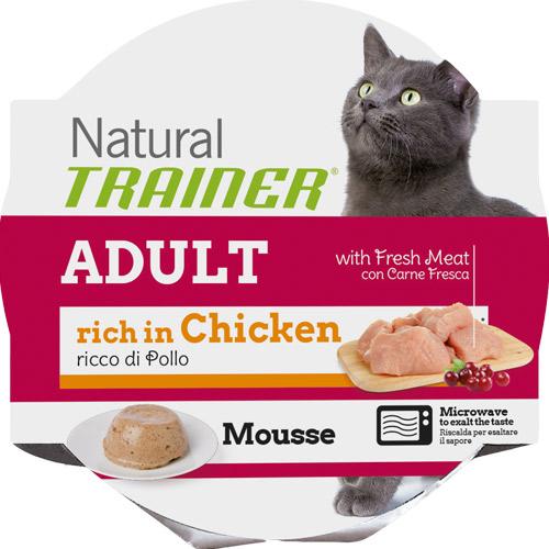 Trainer Natural Mousse - piščanec - 85 g