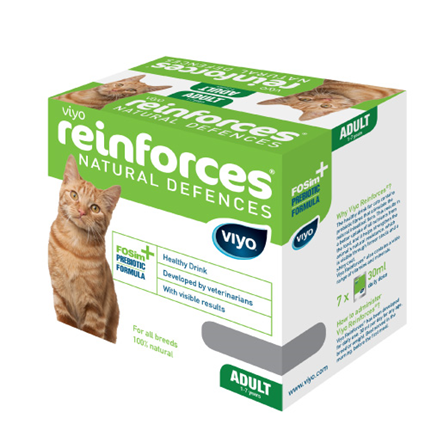 Viyo Reinforces cat Adult - 7 x 30 ml