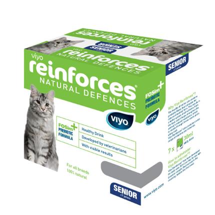 Viyo Reinforces cat Senior - 7 x 30 ml