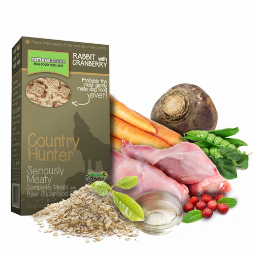 Natures Menu Country Hunter - kunec in brusnica -700 g