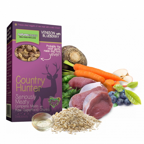 Natures Menu Country Hunter - divjačina z borovnicami - 700 g