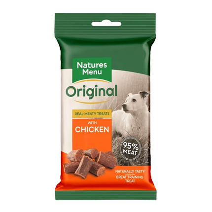 Natures Menu Dog Meaty Treats - piščanec - 60 g