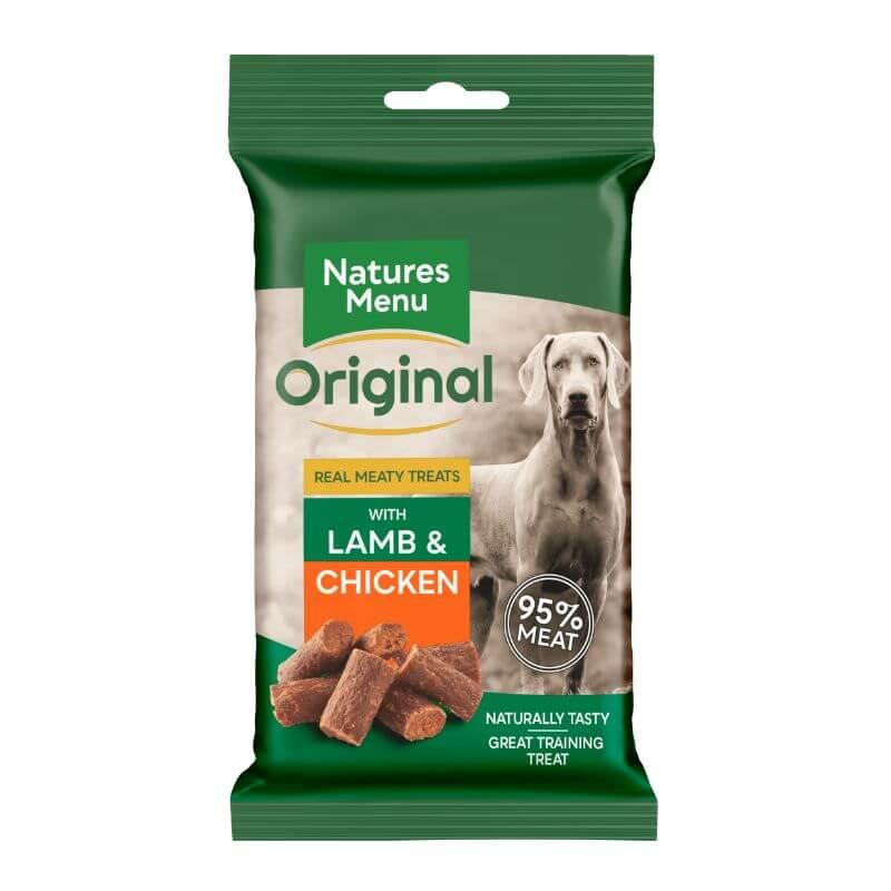 Natures Menu Dog Meaty Treats - jagnjetina - 60 g