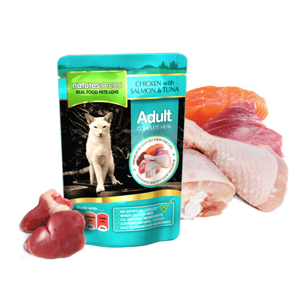 Natures Menu Cat - losos in tuna - 100 g
