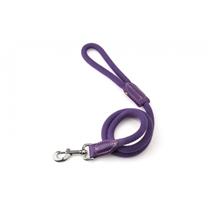 Carbone Bianca kratek povodec iz vrvi (fi 12 mm), vijolična - 60 cm