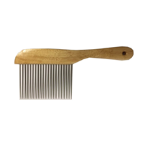 Jean Peau glavnik z lesenim ročajem - XL