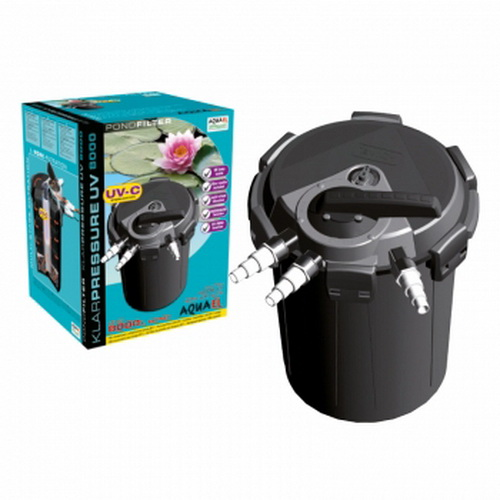 Aquael Klarpressure filter za ribnik z UV-C 8000