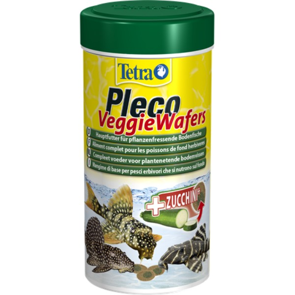 Tetra Pleco Veggie Wafers - 250 ml