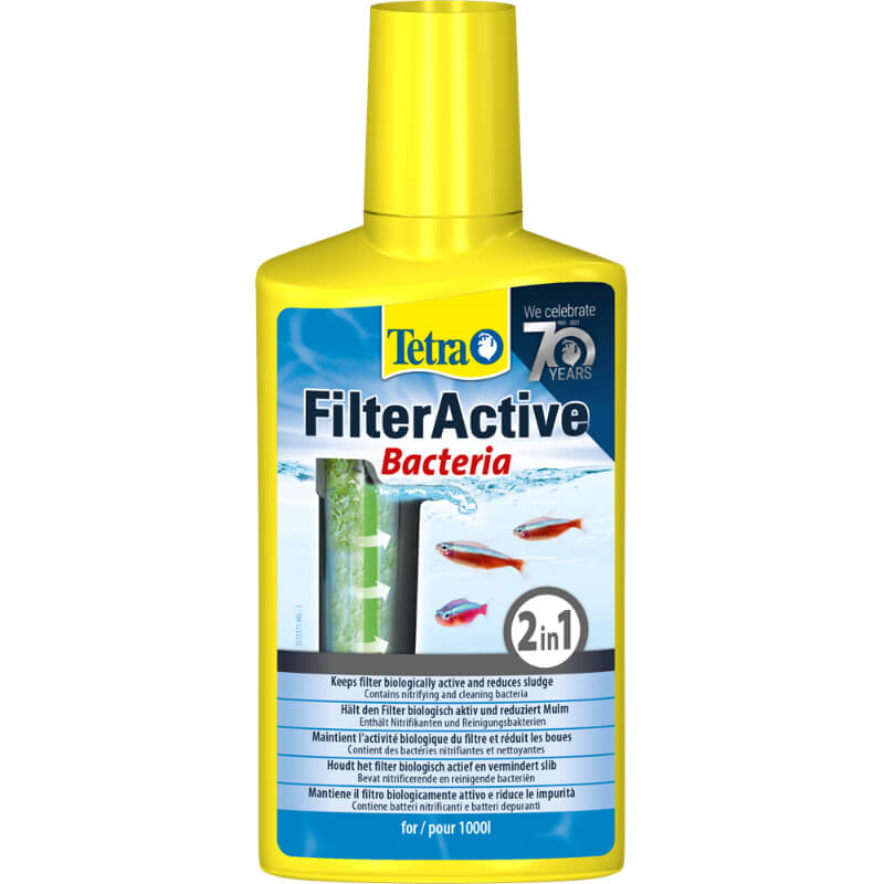 Tetra Filter Active žive bakterije - 100 ml