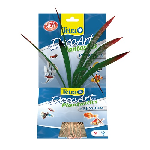 Tetra plastična rastlina Dragon Flame - 15 cm