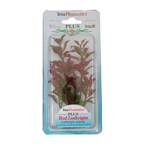 Tetra plastična rastlina Ludwiga, rdeča - 15 cm