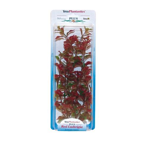 Tetra plastična rastlina Ludwigia, rdeča - 23 cm